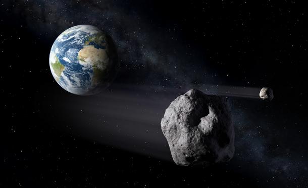 0a5e9395f1255706e402779c7f1855c0 К Земле приближается опасный астероид