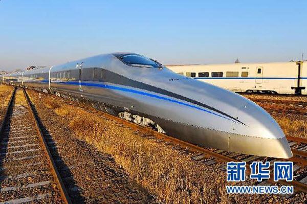 109 Китайцы разогнали поезд до 500км/ч