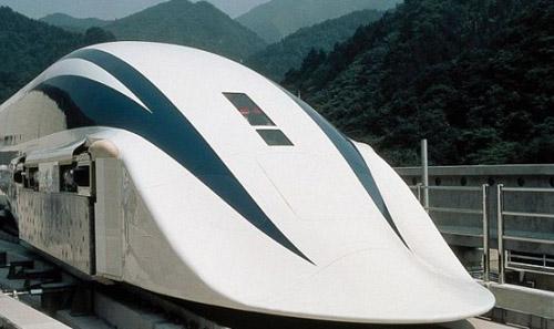 1227 Японцы создали рабочий прототип высокоскоростного бесколёсного поезда