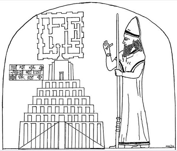 1271 Как выглядел прообраз Вавилонской башни?