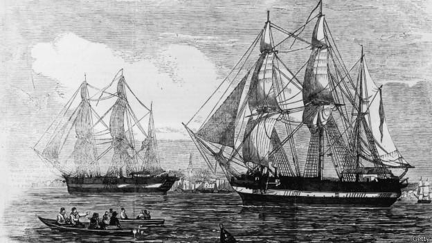140909164723_franklin_ships_624x351_getty В Арктике найдены обломки пропавшего 170 лет назад судна экспедиции Франклина