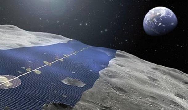 1421407038_0 Япония собирается построить на Луне солнечную электростанцию