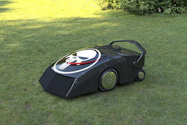1422 Создан робот-газонокосилка, питающийся травой