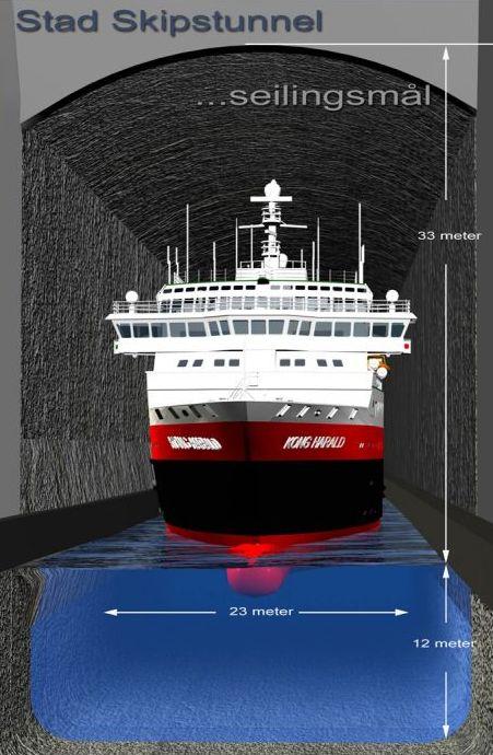 Норвежские инженеры возведут уникальный туннель