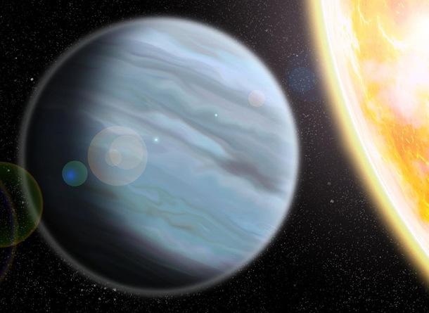 1494373014 Астрономы обнаружили планету больше и легче Юпитера
