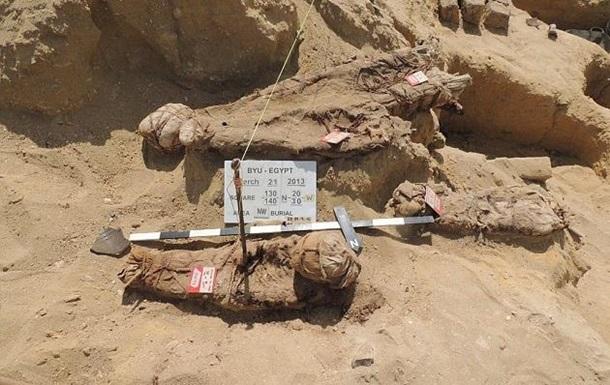 1550130 В Египте археологи обнаружили странное древнее захоронение