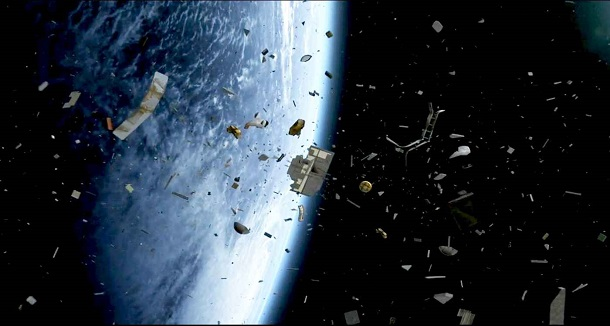16231 В 2014 году на Землю упало 100 тонн космического мусора