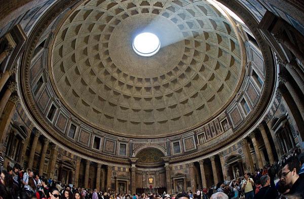 191 «Глаз Пантеона» - гигантские солнечные часы?