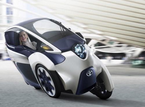 2-1 Электрический трицикл - транспорт будущего?