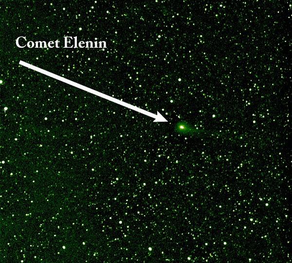 215 Комета Еленина пролетит мимо Земли незаметно