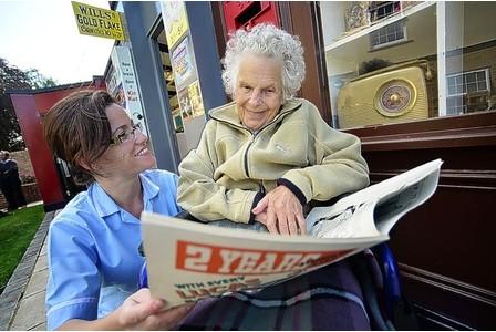 228 Британских стариков будут лечить с помощью ностальгии