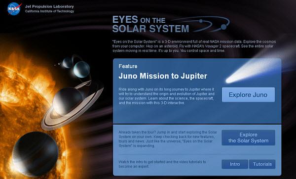 252 Следить за деятельностью НАСА теперь можно через Интернет