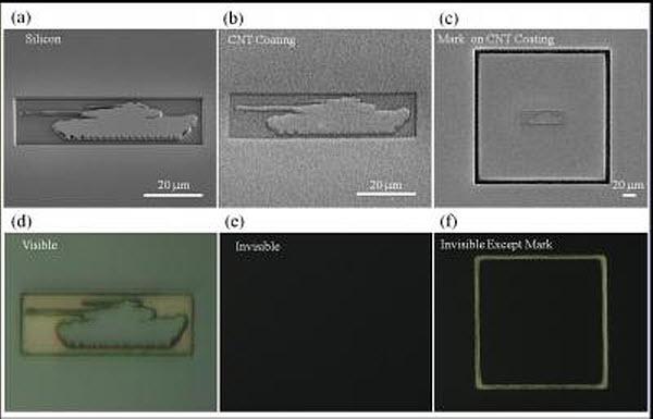 272 Углеродные нанотрубки помогли замаскировать танк