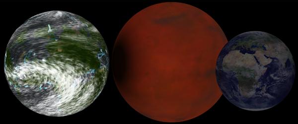 29 Обнаружен газовый «двойник» Земли