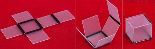 310 Свет помог собрать пластик в 3D-форму
