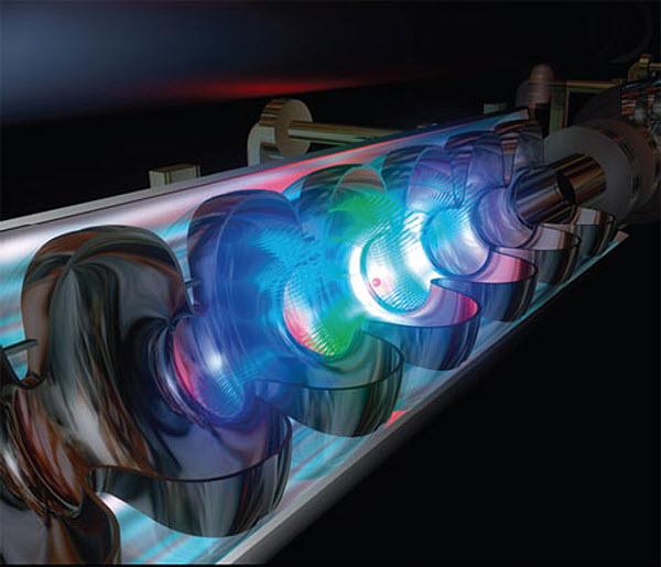 317 Итальянцы построят электрон-позитронный коллайдер SuperB