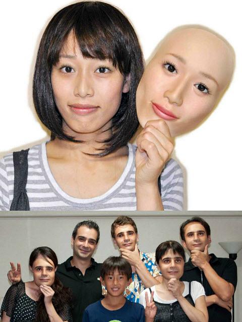 333 Потрясающие 3D-маски от японской компании