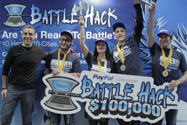 356 Команда из Москвы выиграла программистский конкурс PayPal