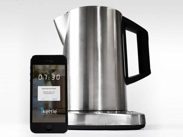 358 Чайником iKettle можно управлять при помощи Wi-Fi