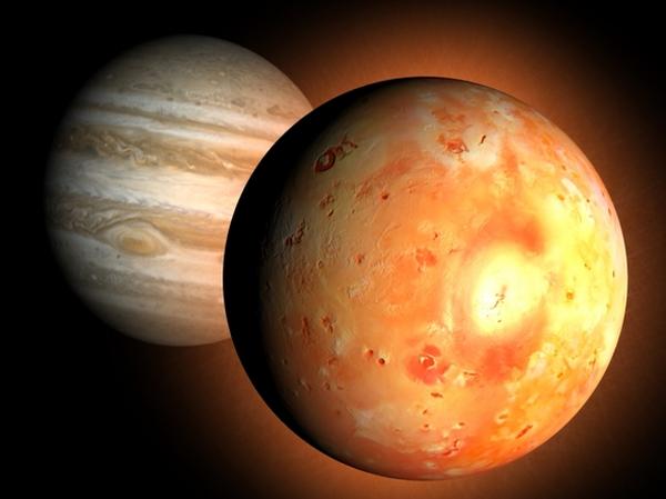 36 На Ио вычислили существование жидкого океана магмы