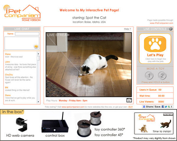 371 Теперь поиграть с домашними животными можно через Интернет