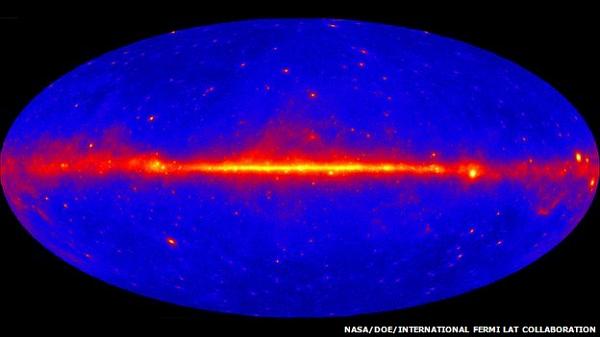 38 Первые интересные данные от телескопа «Ферми»