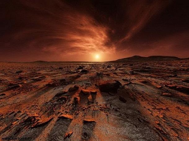 3838046982 Ученый считает, что жизнь на Марсе уничтожили ядерным оружием инопланетяне