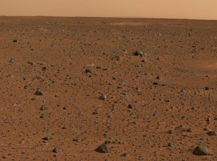 39397 Марсианская почва - это гигантский атмосферный фильтр