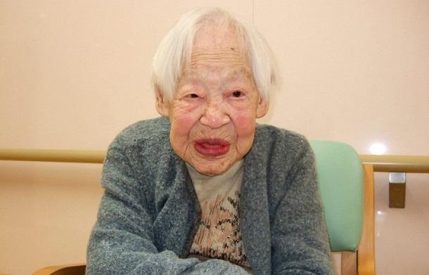 3981795 В Японии на 118-м году жизни скончалась старейшая жительница планеты
