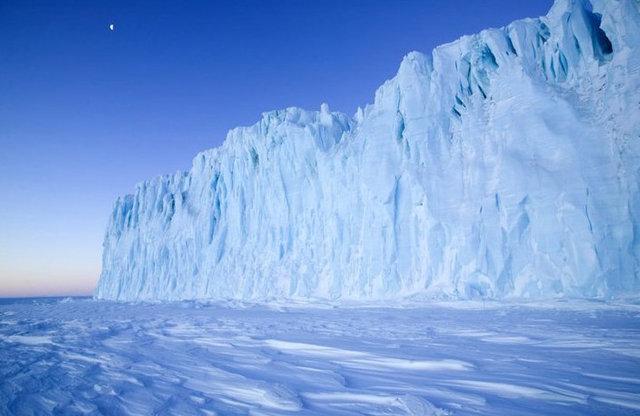 399 Подо льдами Антарктики скрывается вулкан