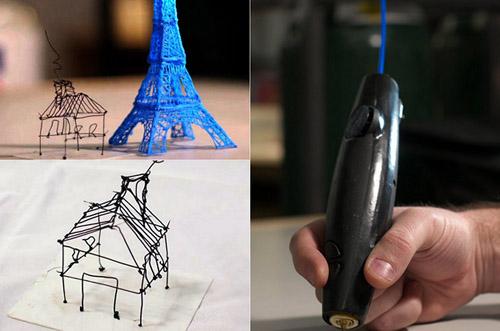 3doodler_pen_04 В мире появилась первая ручка для трёхмерных рисунков