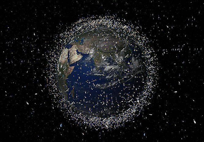 40942806_kosmicheskiy_musor В Австралии создан первый в мире научный центр по борьбе с космическим мусором