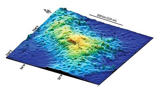 426 Крупнейшим вулканом Земли является Таму