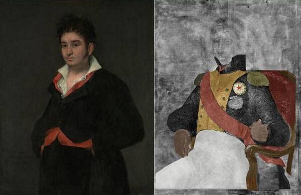 46 Гойя спрятал портрет французского генерала под испанского судью