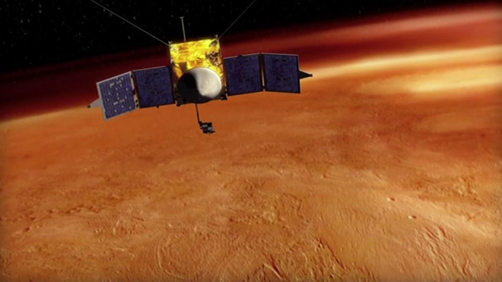 486126main_mavenorbitfull NASA отправит на Марс новый орбитальный зонд