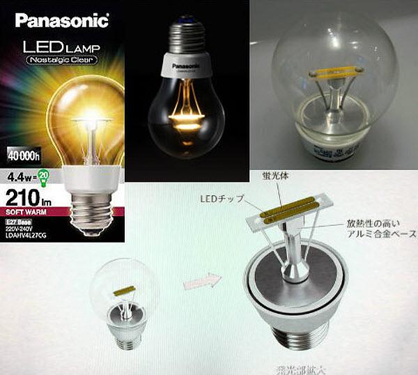 492 Лампу накаливания превратили в светодиодную