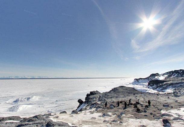 544 В Антарктиде подо льдом нашли самый большой каньон на Земле