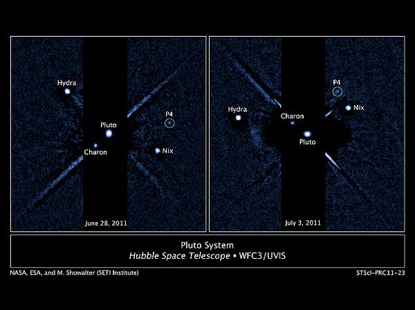 581 У Плутона нашли четвертую луну