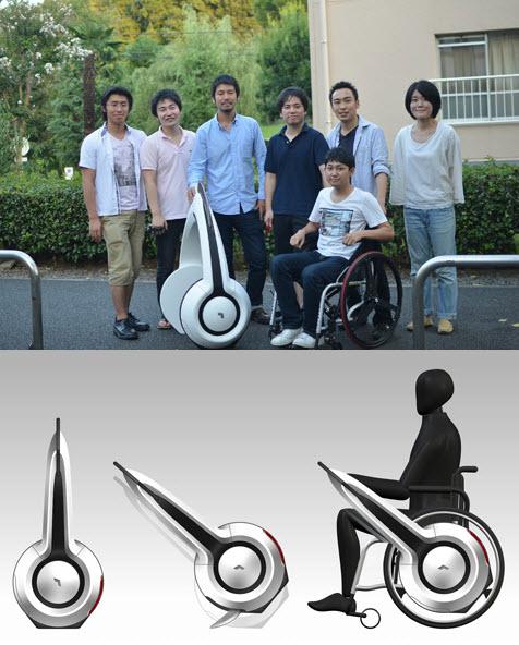 633 Из инвалидного кресла - в электромобиль