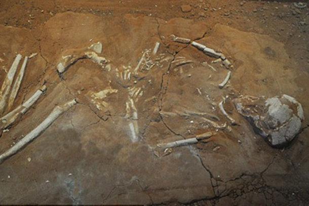 643512 Во время раскопок в Греции археологи наткнулись на могилы античных ходячих мертвецов