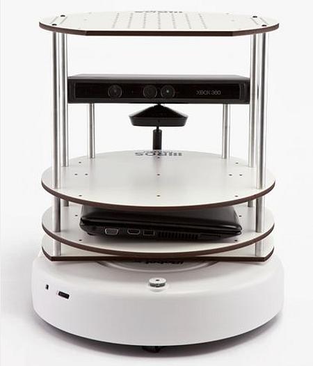 77 TurtleBot – робот–конструктор