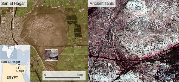 78 Спутник помог отыскать в Египте ещё тысячи гробниц