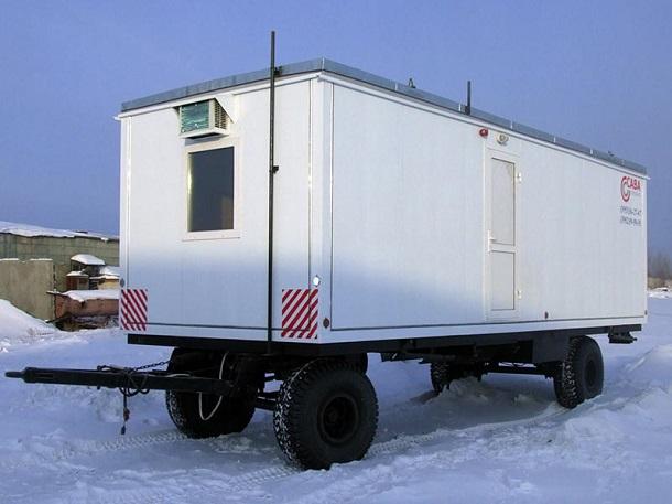 806lb-2 Первые вагон-дома появились более 40 лет назад
