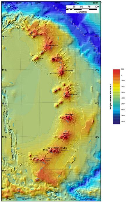 93 Антарктика скрывает вулканы
