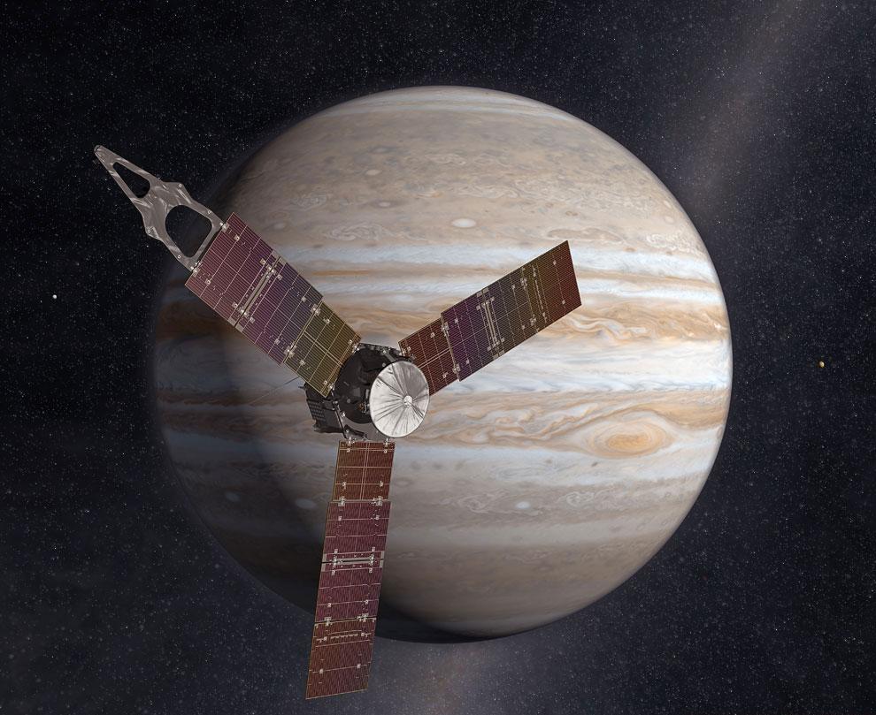 950 Космическое путешествие Юноны подходит к завершению