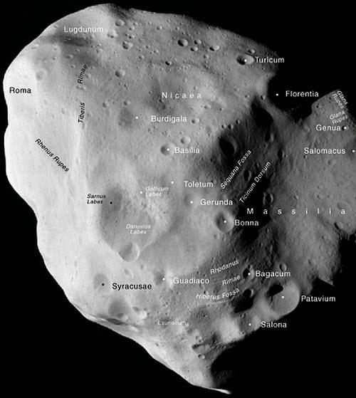 99 Астрономы записали Лютецию в планетезимали