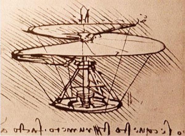 a ТОП-10 подарков человечеству от Леонардо да Винчи