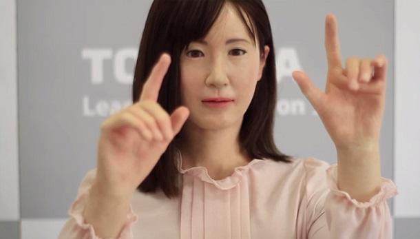 aiko Компания Toshiba разработала невероятно реалистичного робота-андроида
