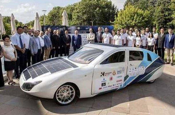 aruna-1 В Турции построили 4-местное авто на солнечных батареях