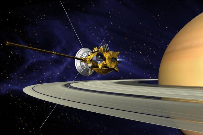 cassini_saturn_orbit_insertion На Титане обнаружен пластик